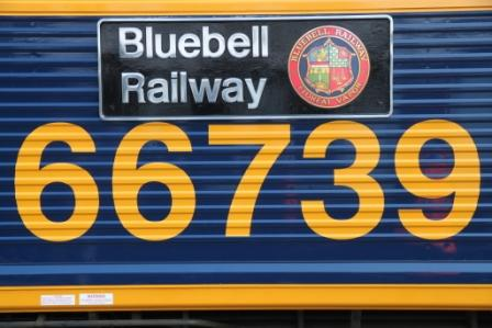 c66 nameplate on loco