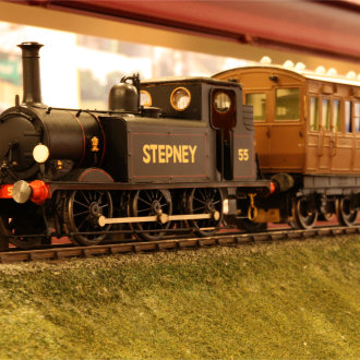 Bluebell Railway Museum Model of Stepney