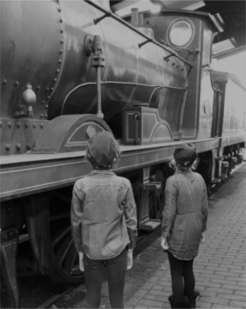 Girls in the Loco Shed