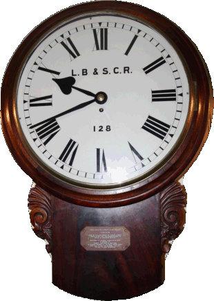 L.B & S.C.R Clock