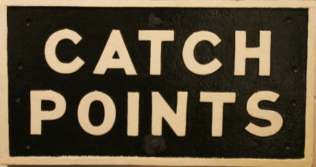 Catch Points warning