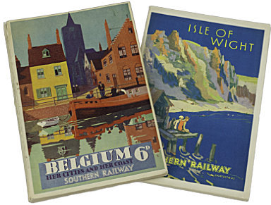 SR Guides to Isle of Wight and Belgium