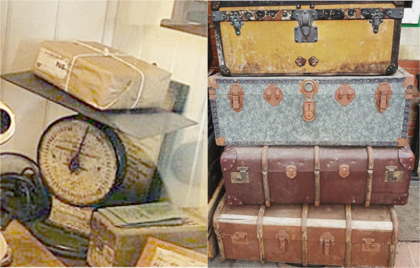 Bluebell Railway Museum Parcels and Luggage