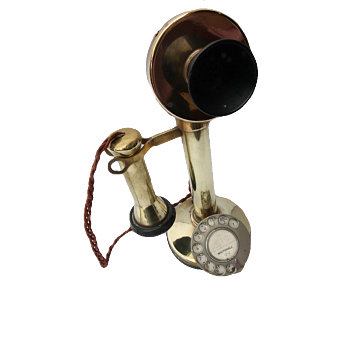 Bluebell Railway Museum Candle Stick Telephone